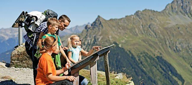 Familienurlaub im Montafon, Vorarlberg - Wandern mit Kindern