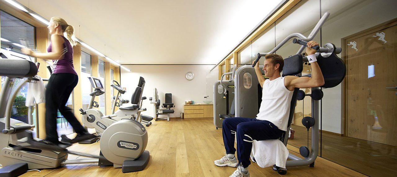 Fitnessraum - AlpenSPA im Wellnesshotel in Schruns, Montafon