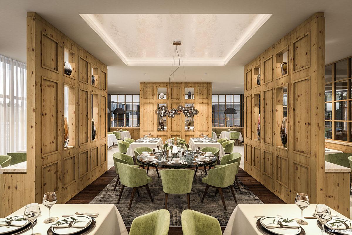 Restaurant im Alpenhotel Montafon in Schruns