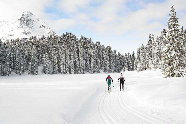 Langlaufen - Winterurlaub im Montafon
