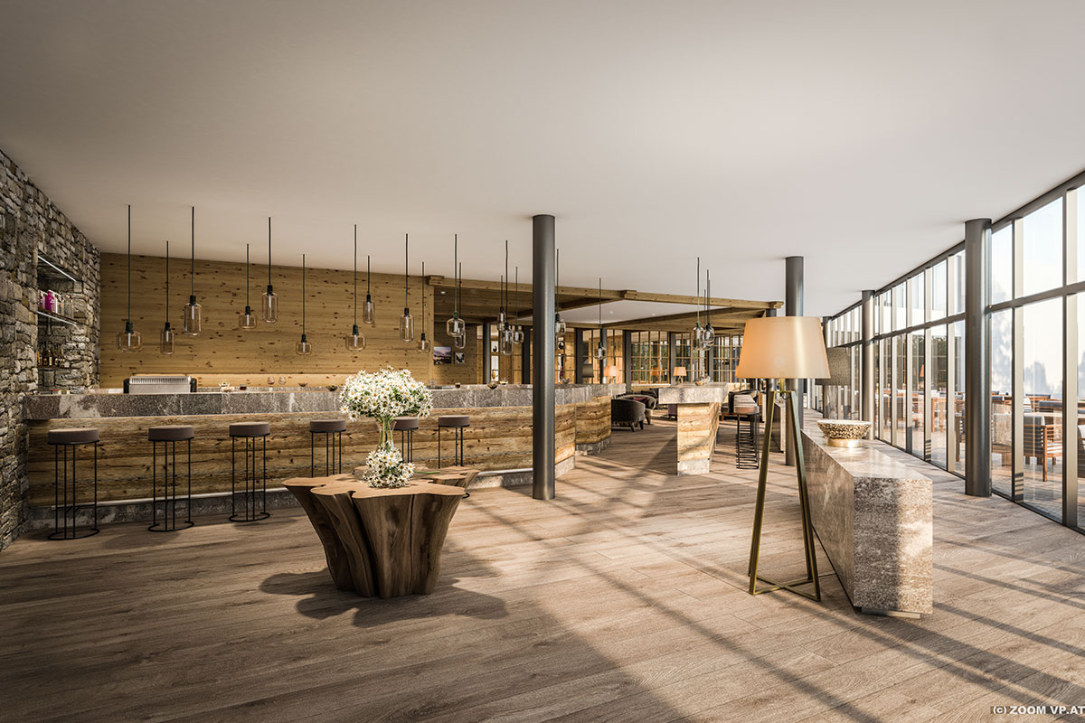 Schlichter Luxus im Alpenhotel Montafon, Schruns