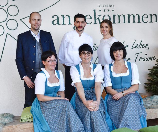 Mitarbeiter im Alpenhotel Montafon, Schruns