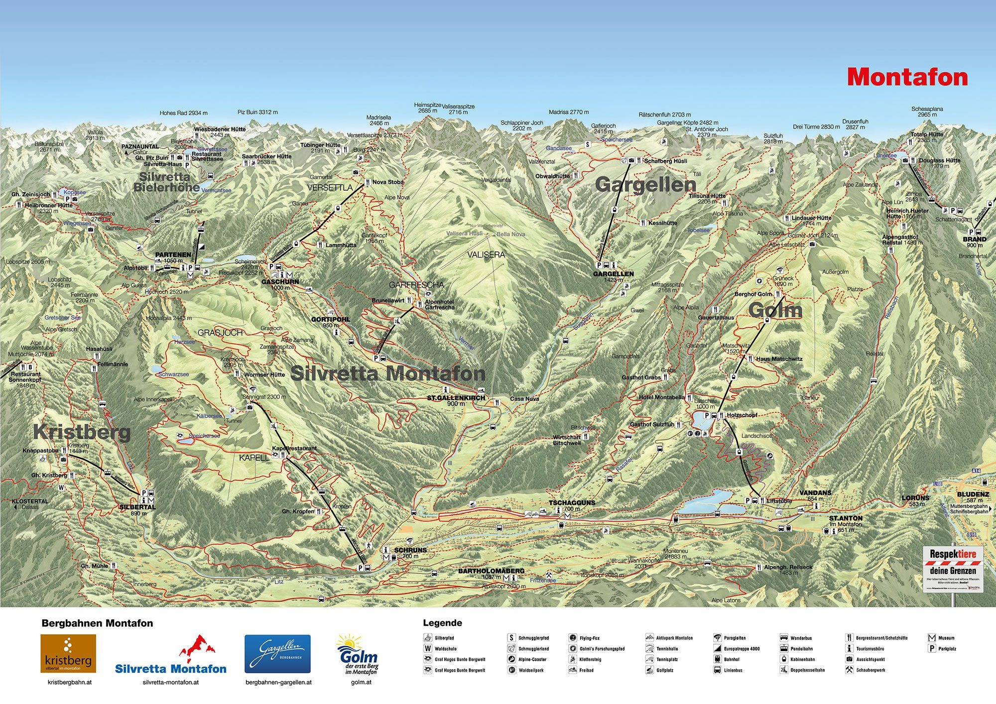 Sommerurlaub In Vorarlberg Montafon