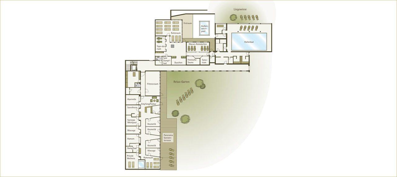 Plan - AlpenSPA im Alpenhotel Montafon in Schruns
