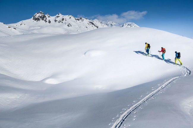 Skitouren - Winterurlaub im Montafon