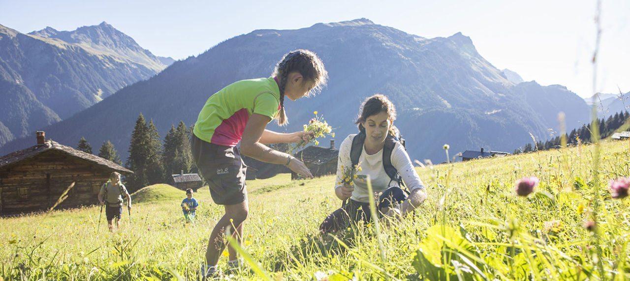Sommerurlaub mit Kindern im Montafon, Vorarlberg