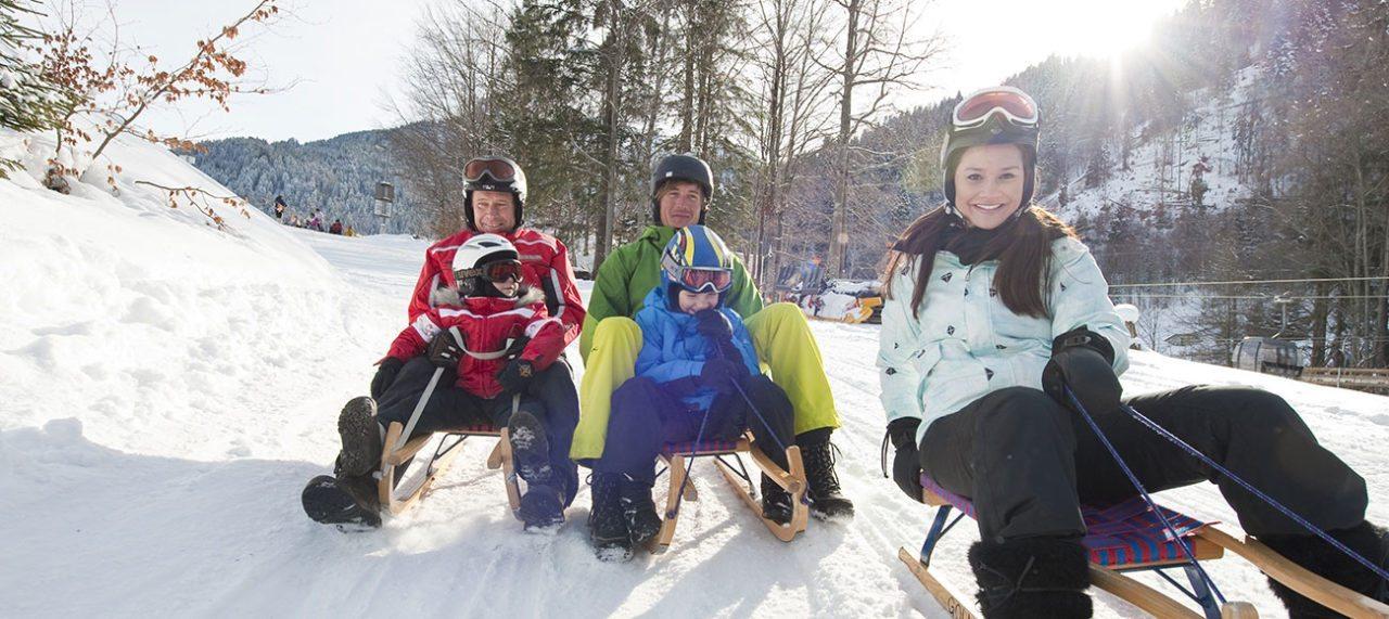 Winterurlaub mit Kindern im Montafon, Vorarlberg