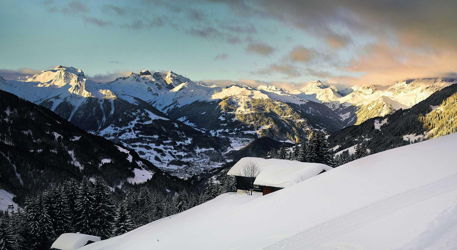 Winterurlaub im Montafon, Vorarlberg